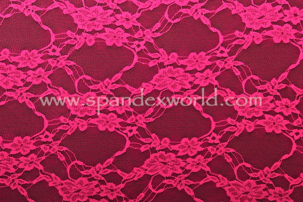 Stretch Lace (Fuchsia)