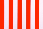 Printed Stripes 1'' (Red/White)