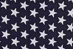 Printed Stars (Navy/White)
