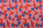 Printed Spandex (Red/Blue/White)