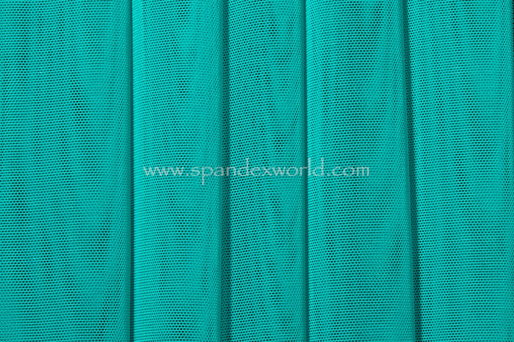 Stretch Solid Mesh (Jade)