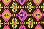 Aztec Prints  (Black/Hot pink/Multi)