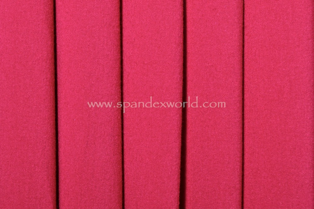 Cotton Lycra® (Rubine Red) (Heavy-weight)