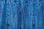 Cracked ice lace (Royal/Royal)