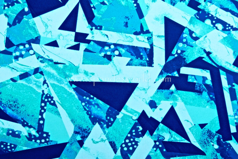 Abstract Print (Aqua/Blue/Multi)