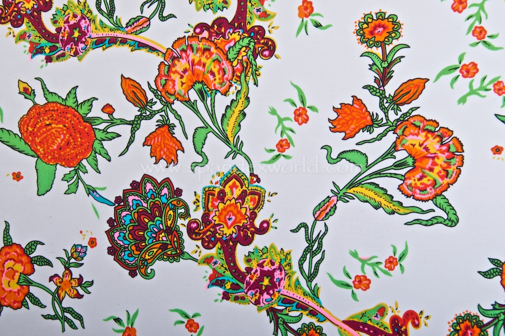Floral Prints (White/Red/Green/Multi)