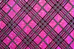 Pattern/Abstract Hologram (Hot Pink/Silver/Black)
