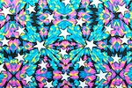 Printed Stars (Blue/Hot Pink/Yellow/Multi)