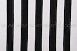 Stripes  Cotton Lycra® 1.5'' Wide  (Black/White)